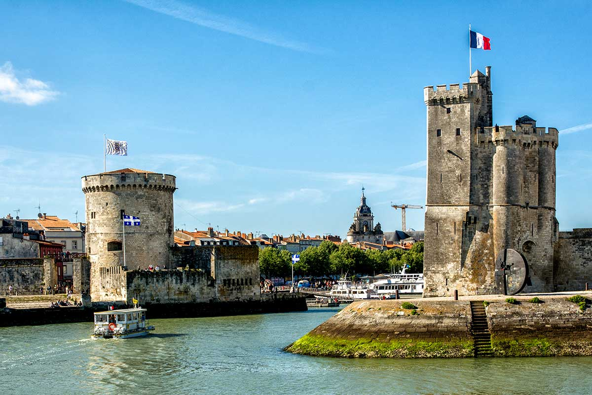 Image result for Twin towers at entrance to port at La Rochelle